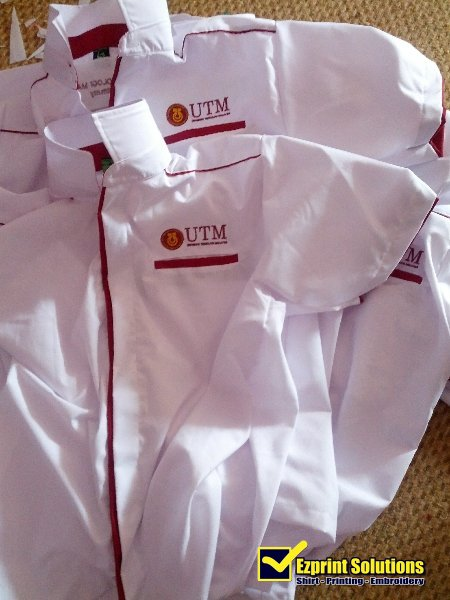 embroidery logo UTM