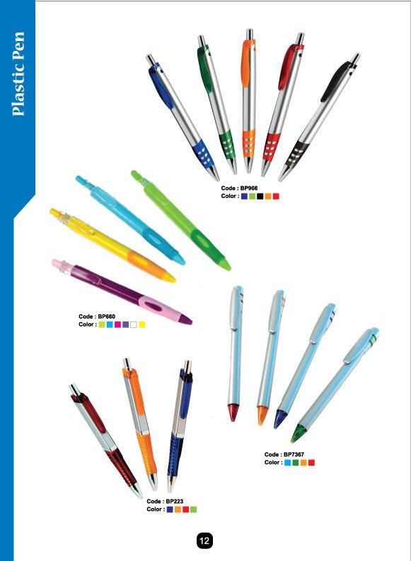pen plastic