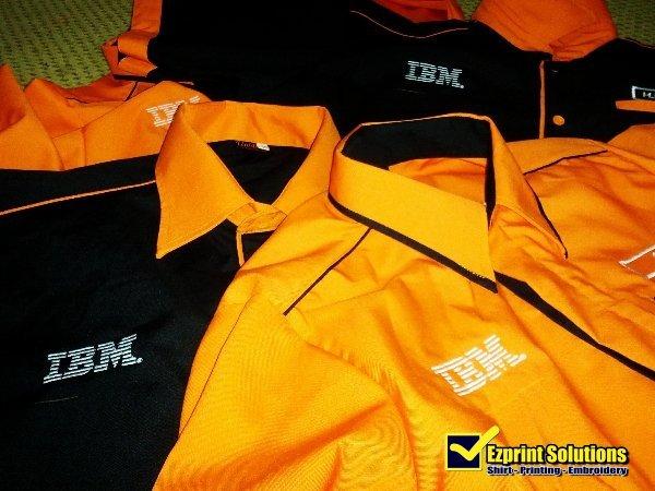 Kemeja F1 Uniform IBM MALAYSIA a3a92ae306
