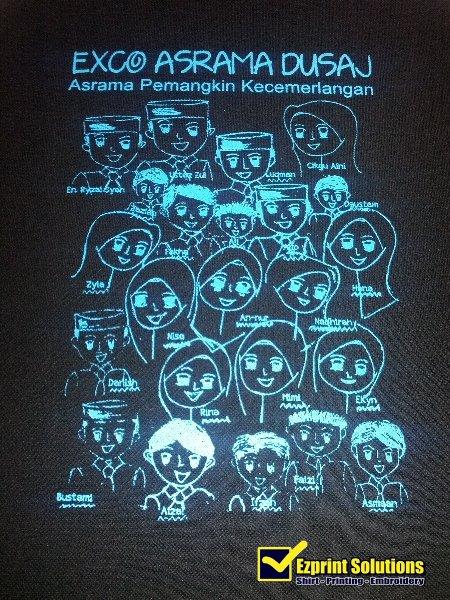 t-shirt asrama