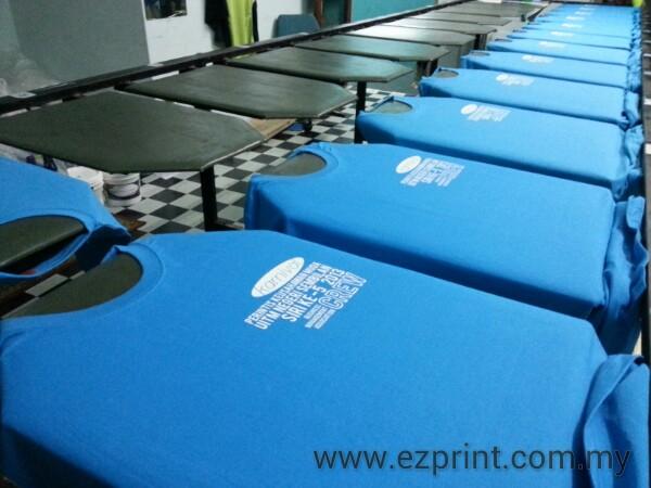 proses cetak baju