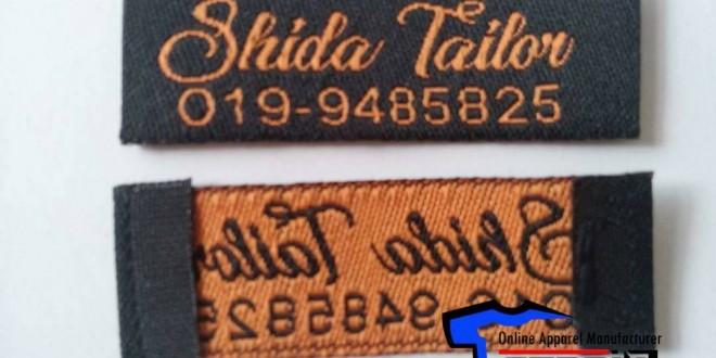 woven label cloth label