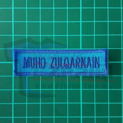 order name tag sekolah bulk order