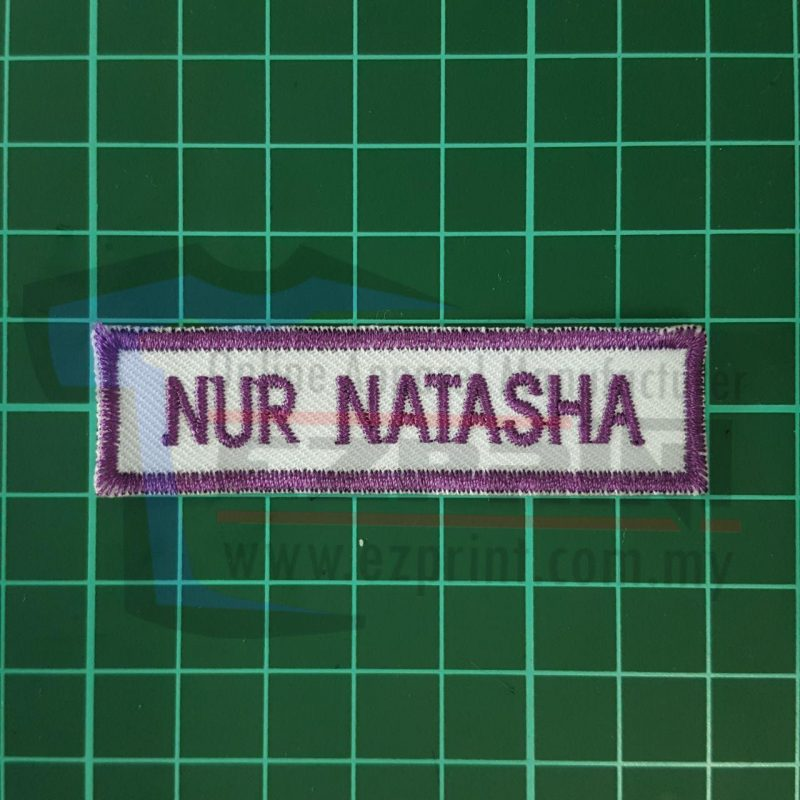 primary school name tag