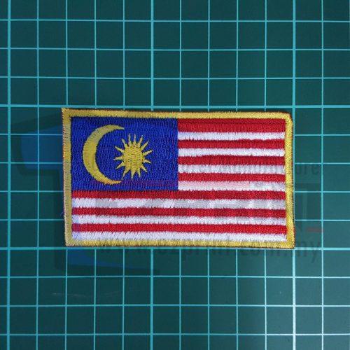 sulam bendera malaysia patches