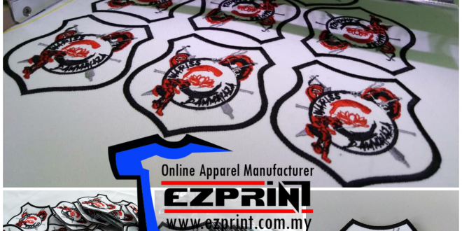 Patch logo sulam silat