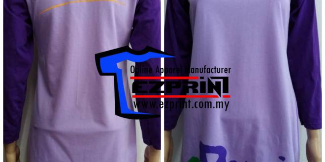 tempah baju muslimah custom