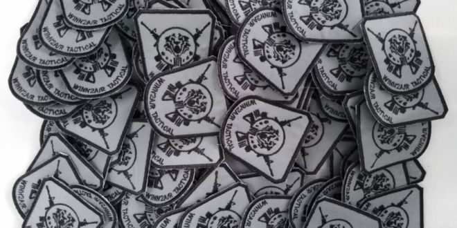Patches embroidery tiada minimum order