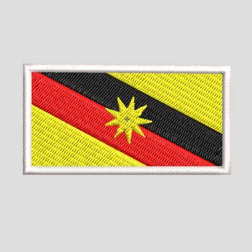 sulam bendera sarawak